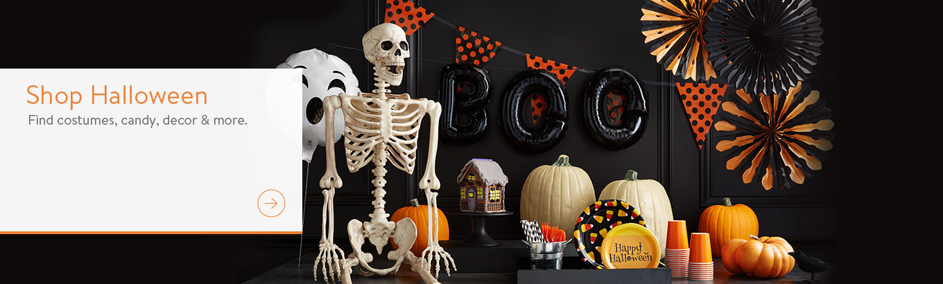 Find Halloween party supplies