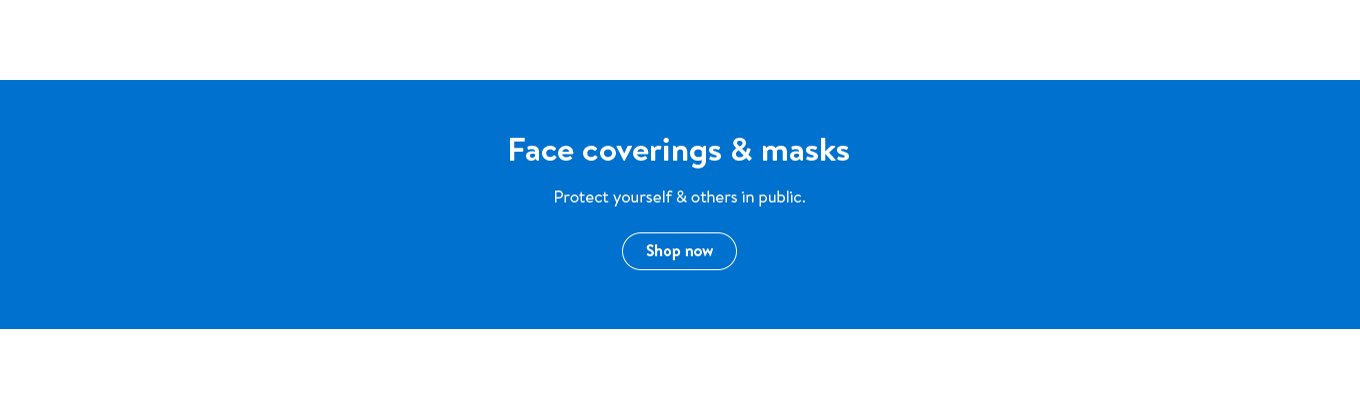 Face coverings and masks. Protect yourself and others in public. Shop now.