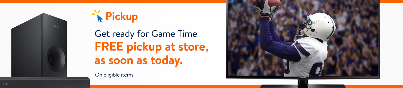 Get ready for Game Time! Free pickup at store, as soon as today.