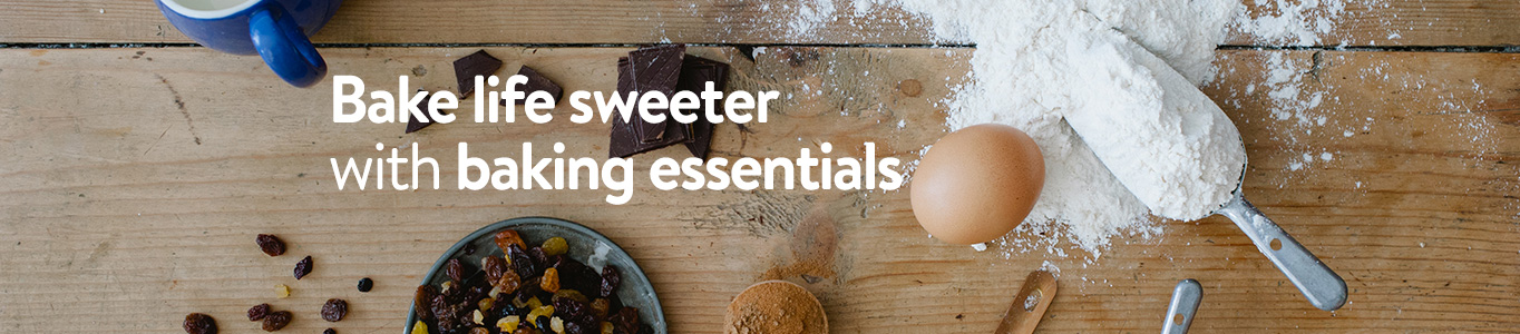 Shop baking essentials