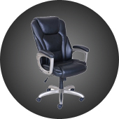 gray swivel office chair 75 vintage wooden captains chair office furniture christmas deals walmartcom