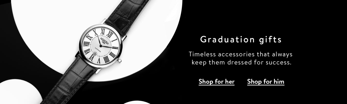 d7bffe73685 Graduation gifts. Timeless accessories that always keep them dressed for  success. Shop for her