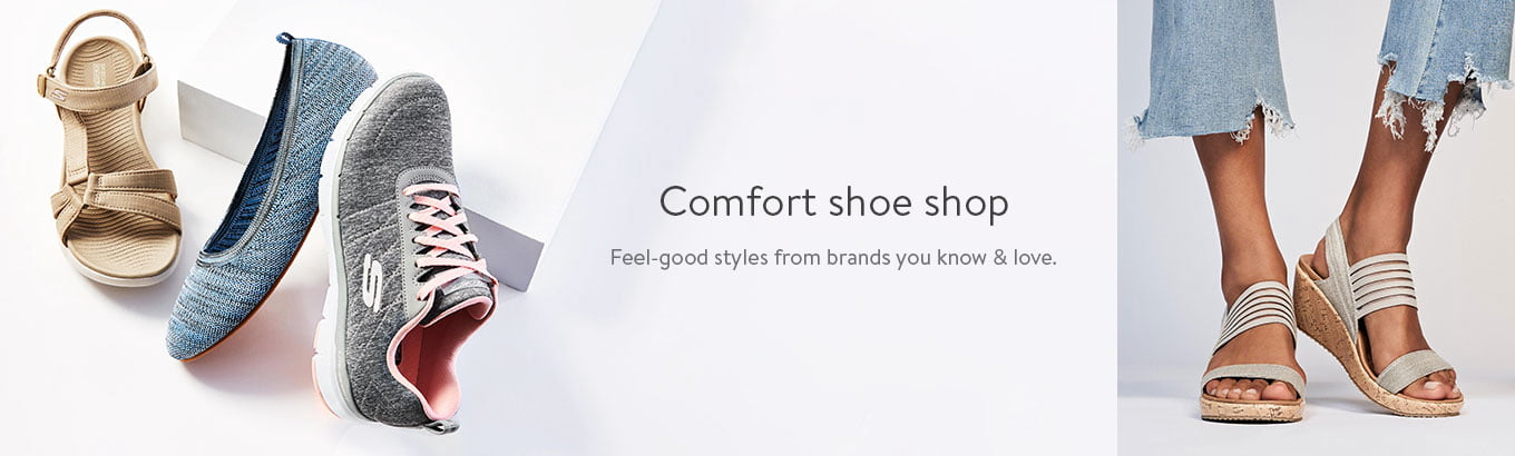 Comfort shoe shop. Feel-good styles from brands you know and love.
