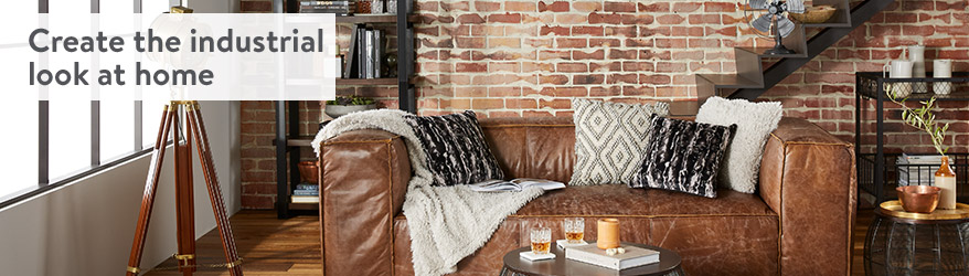 Create The Industrial Look At Home