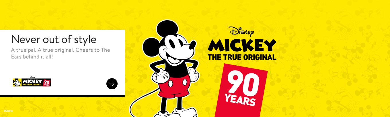 Shop all things Mickey
