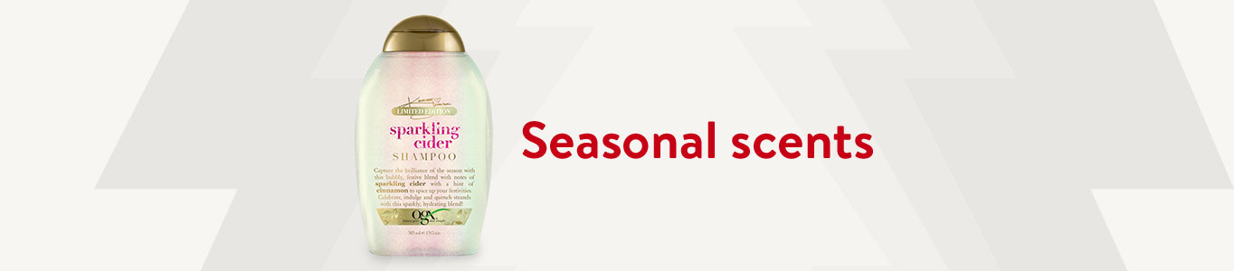 Shop seasonal scents in personal care