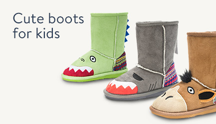 Cute boots for kids