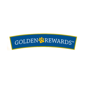 Treat your pup to high quality Golden Rewards Dog Treats!