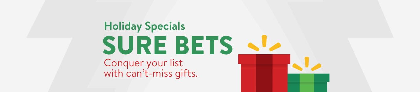 Conquer your list with can't miss gifts