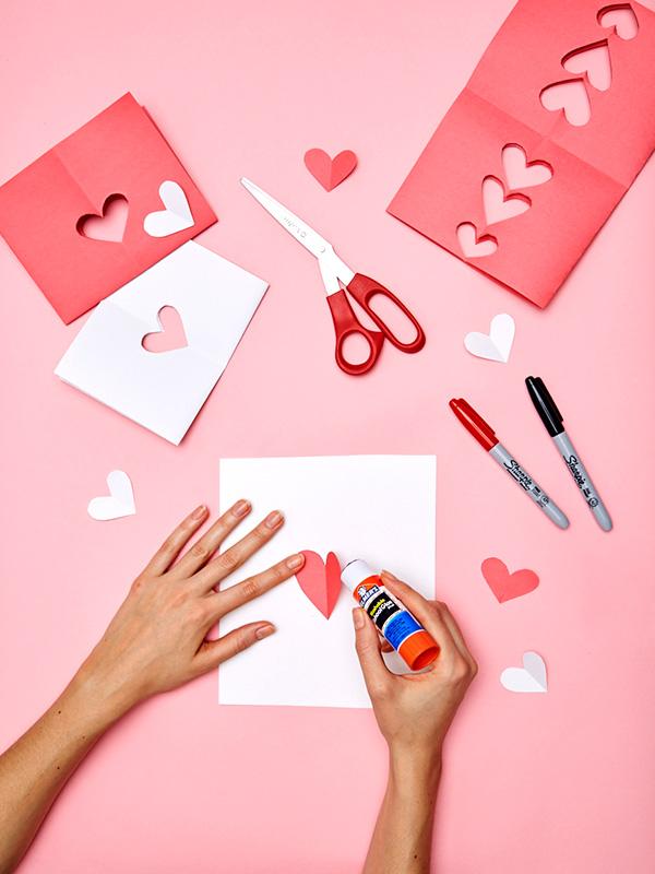 DIY valentine's day cards craft