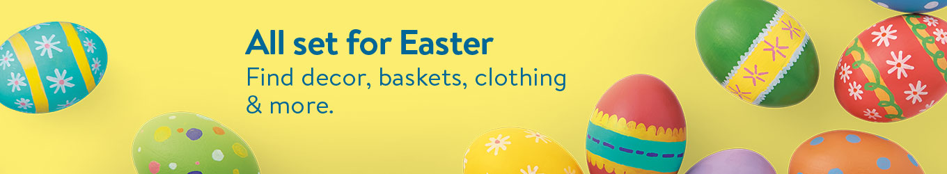 4b9bcca54a8d Easter: Candy, Baskets, Eggs, and Decorations | Walmart.com