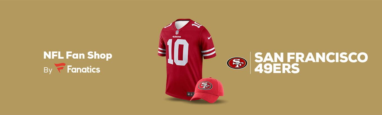 big sale ec4fa fb8f0 San Francisco 49ers Team Shop - Walmart.com
