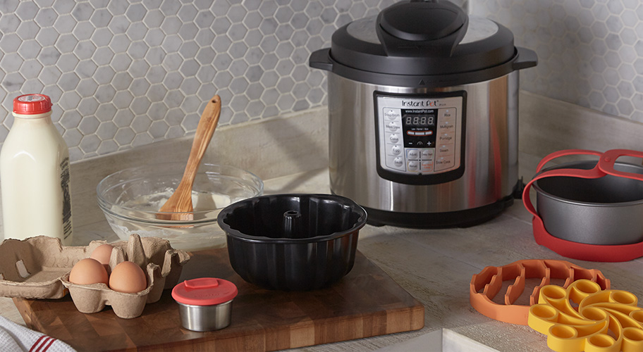 Instant Pot tools. These new accessories give you even more ways to cook with your most versatile appliance—Instant Pot! Find clever pressure-cooker solutions, like pans that fit inside & easy-to-use silicone tools.