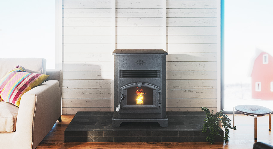 High-efficiency heat: Looking to add an efficient, effective heating source to your home? A pellet stove is the perfect combo of traditional styling & modern technology.