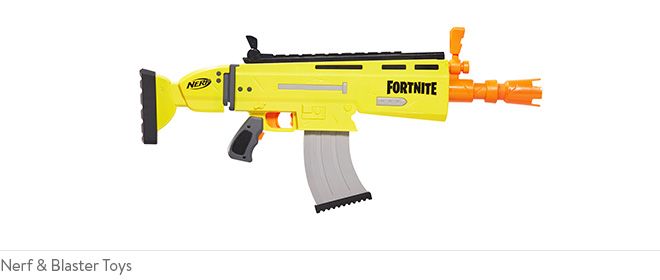 Nerf & Blaster Toys