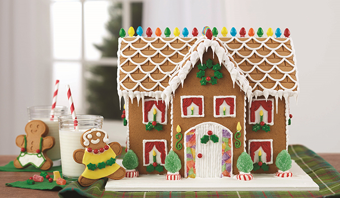 wilton gingerbread house instructions