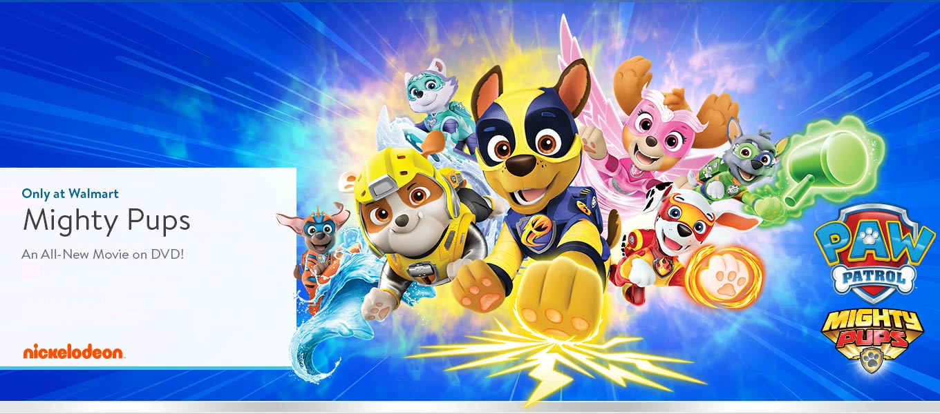 Mighty Pups an all=new movie on DVD