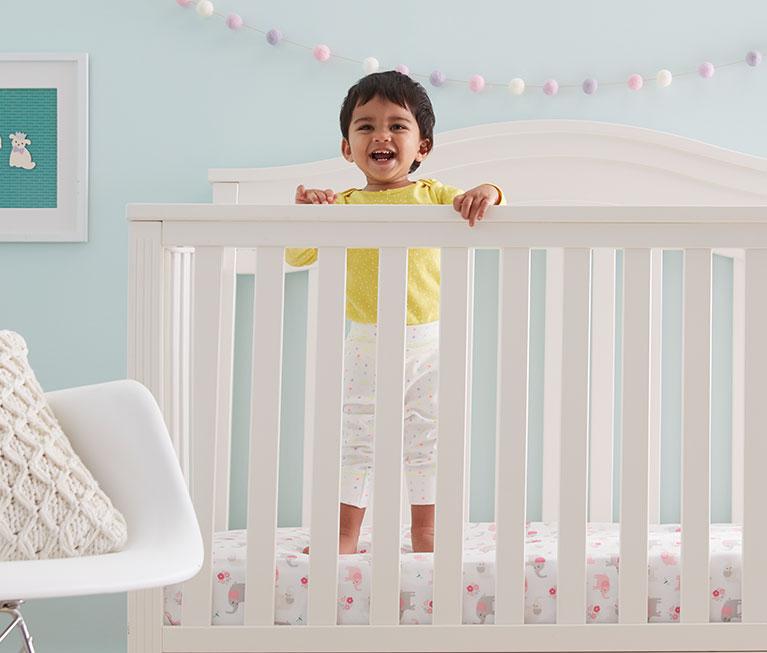 Sensible New Happy Baby Cot Sheet Set Baby Boy Nursery Bedding Sheets & Sets