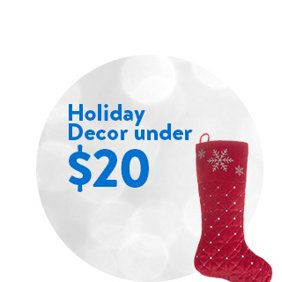 Holiday Decor under $20: Holiday Decor Deals