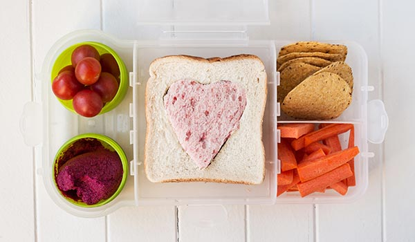 5 Easy School Lunches, One List