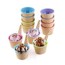Dessert Bowls & Spoons