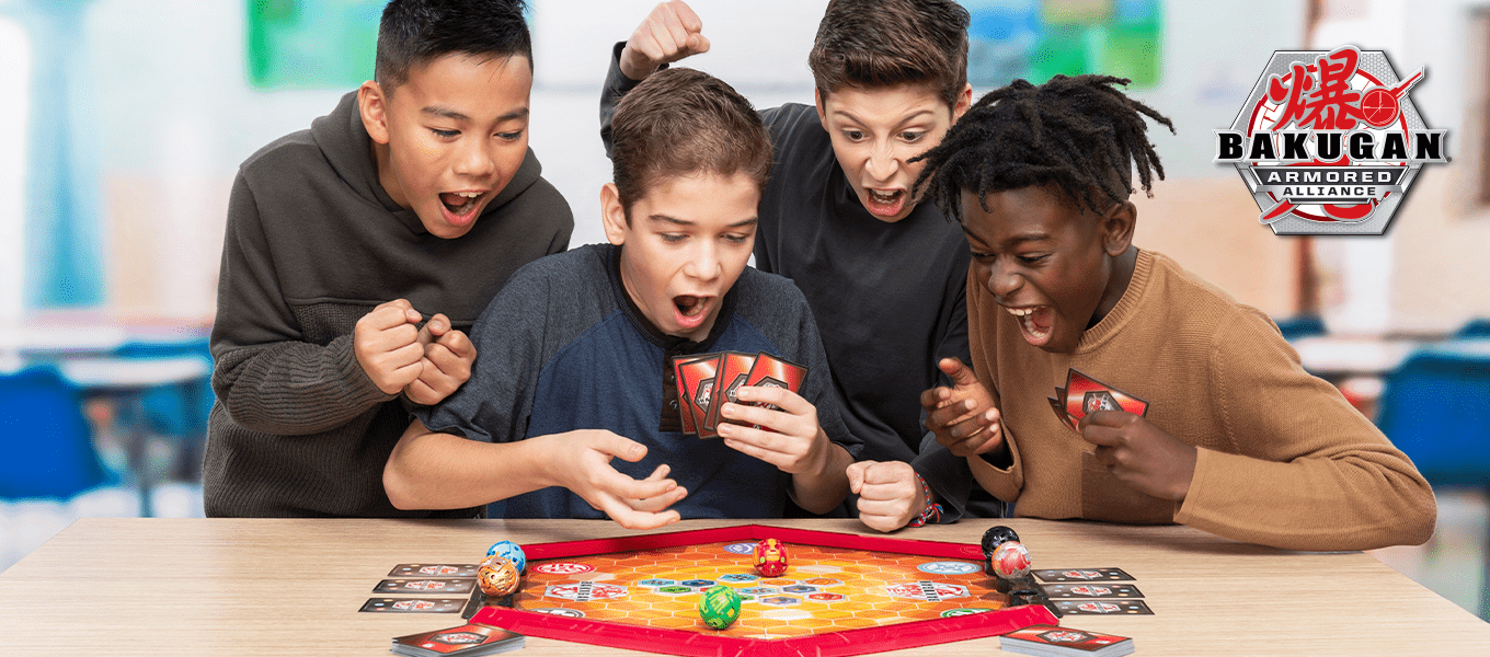 Brawl into action with Bakugan