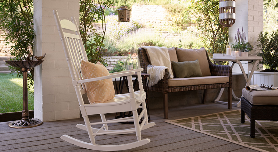 Turn your front porch into the ultimate outdoor lounge with inviting  benches & - Patio Furniture - Walmart.com