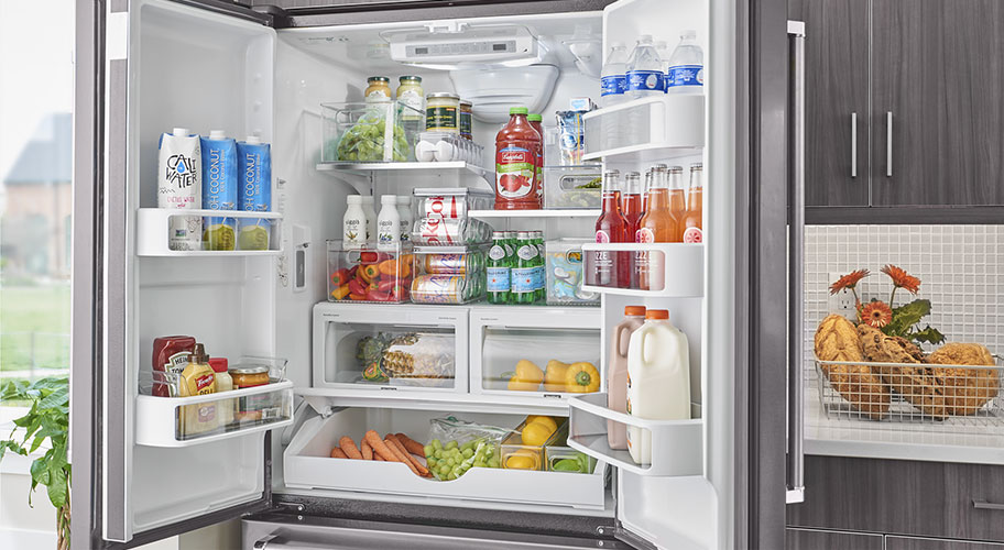 Keep Your Fridge Organized U0026 Beautiful With Interdesign Storage. Clear  Containers