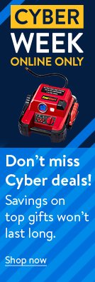 Don't miss Cyber deals! Savings on top gifts won't last long. Shop now.