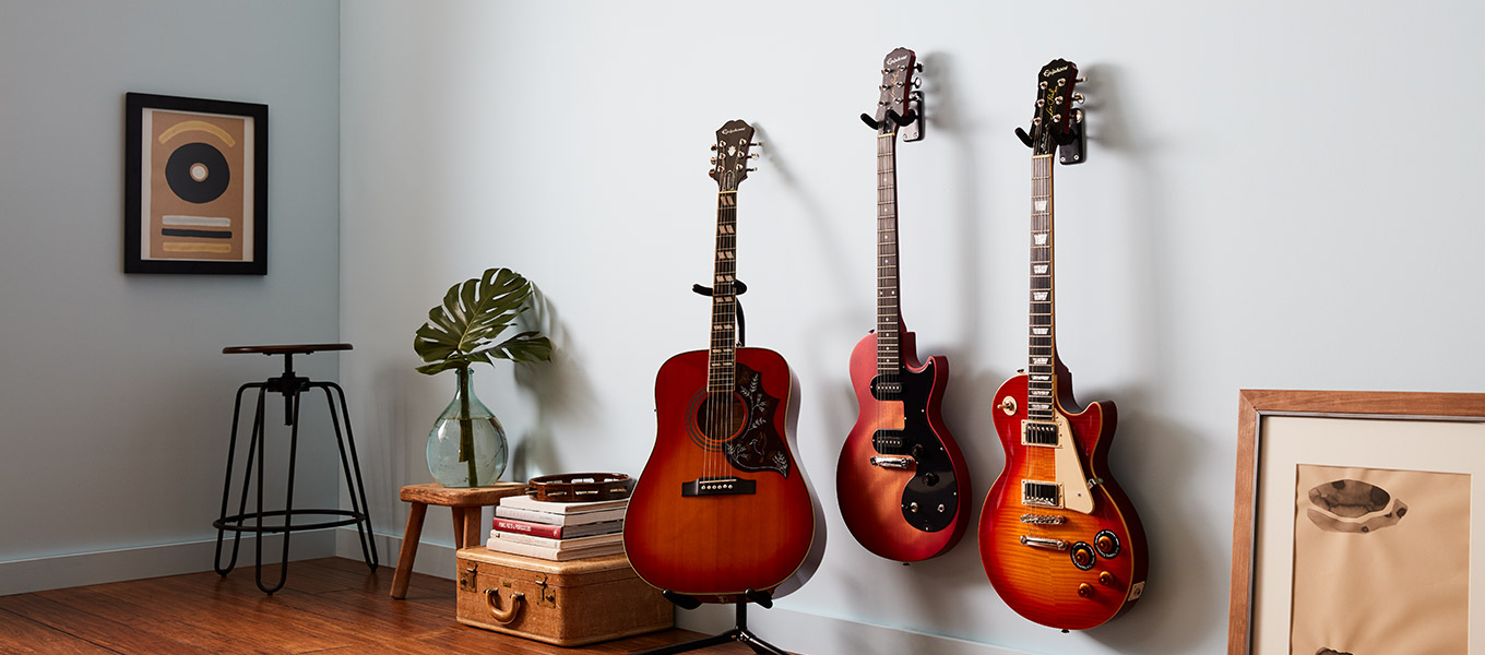Epiphone Guitars. Choose the one that resonates with you.