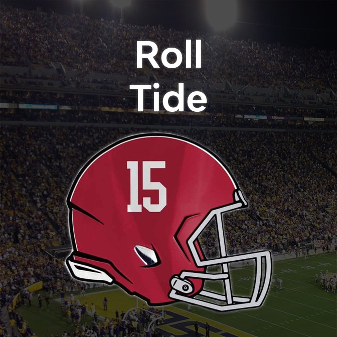 Alabama Crimson Tide Team Shop