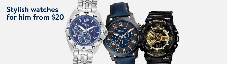 stylish watches for him from 20