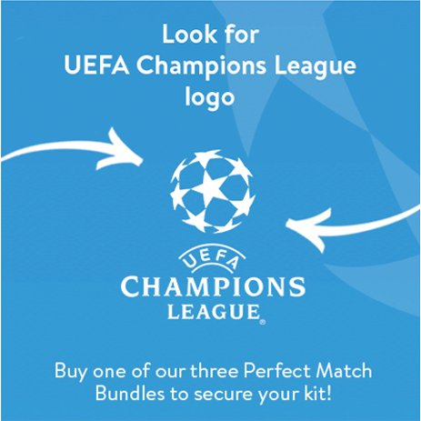 Look for the UEFA Champions Leage LOGO