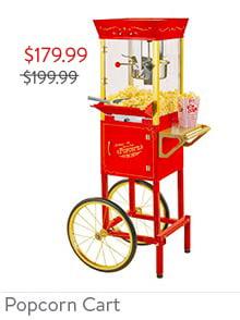 Electric Popcorn Cart