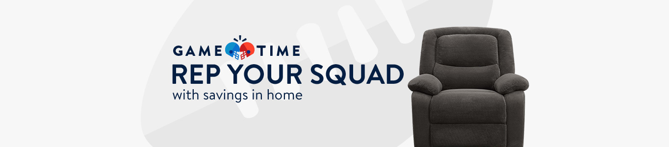 Rep your squad with savings in home