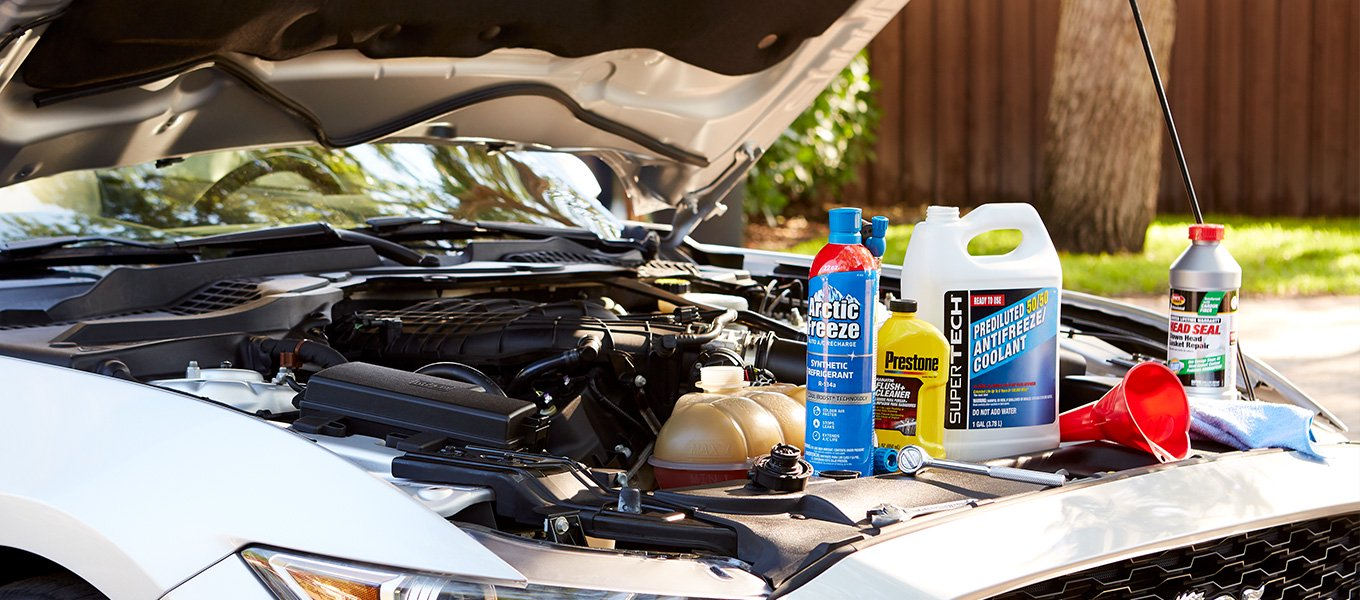 Beat the heat. Prep your car for the summer season.