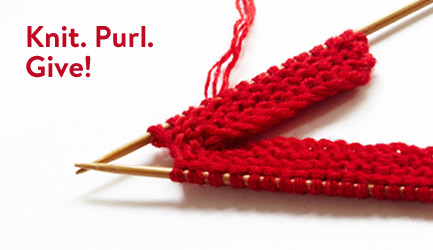 Knit. Purl. Give a handmade gift!