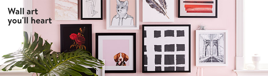Home decor picture frames.