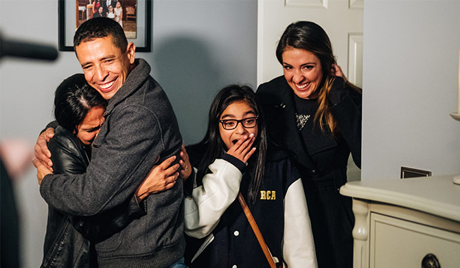 A Home Makeover for One Very Special Student & Her Family
