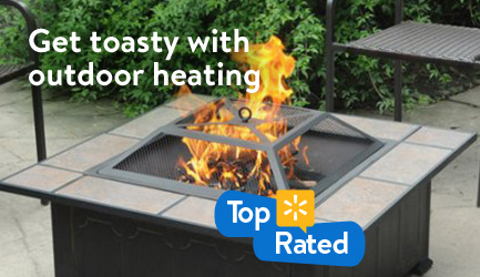 Get toasty with top-rated outdoor heating.