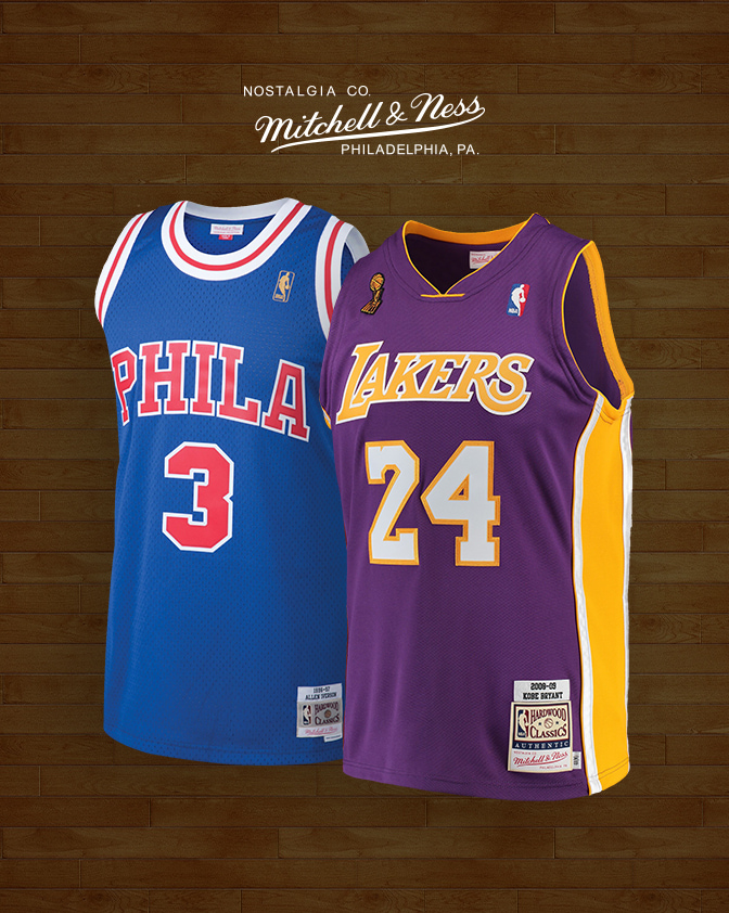 8aa0360b8f5 Allen Iverson Philadelphia 76ers Mitchell & Ness Hardwood Classics Retro  Name & Number T-Shirt - Red