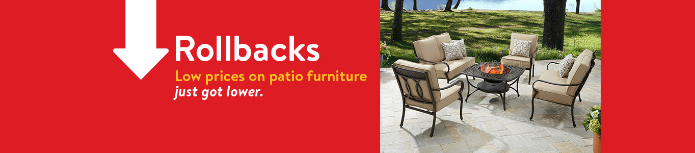 Low prices on patio furniture just got lower. - Patio Furniture - Walmart.com
