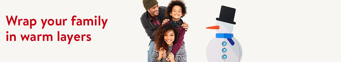 Wrap your family in warm layers