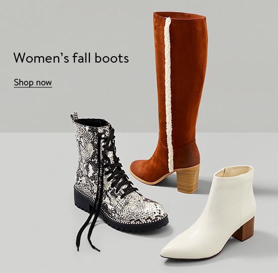 Women's fall boots. Shop now.