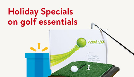 Holiday Specials on golf essentials!