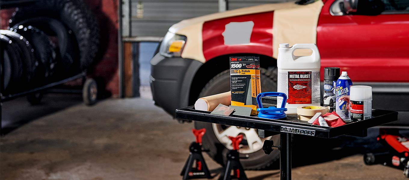 Car care & repair. Shop painting supplies to dent pullers.
