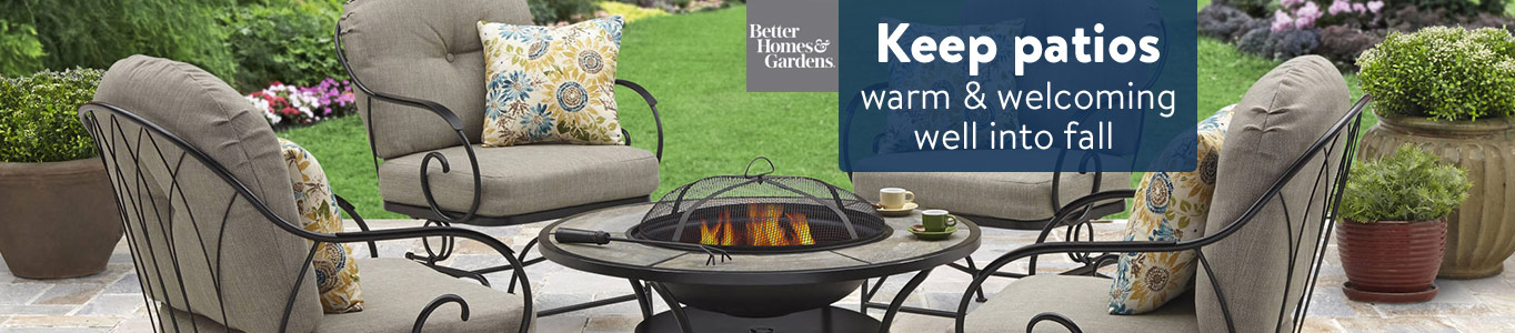 Keep patios warm & welcoming well into fall.