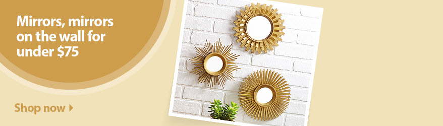 Wall Decor Mirror art & wall decor - walmart
