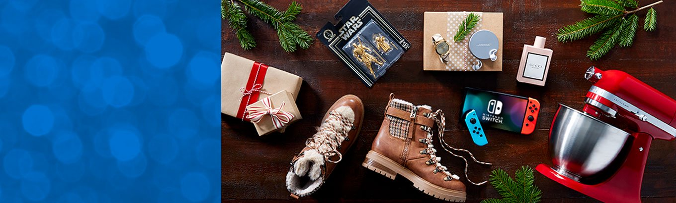 Holiday gift guide. Best gifts. Big deals. Top picks for every person on your list—for less.