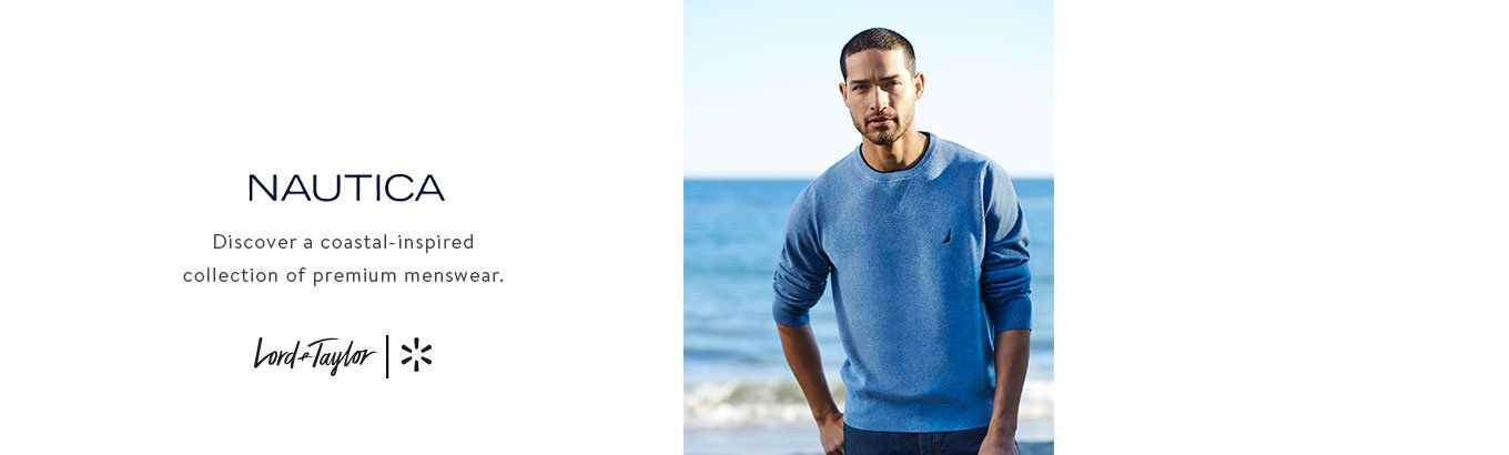 ab849541c NAUTICA Discover a coastal-inspired collection of premium menswear. Lord &  Taylor + Walmart